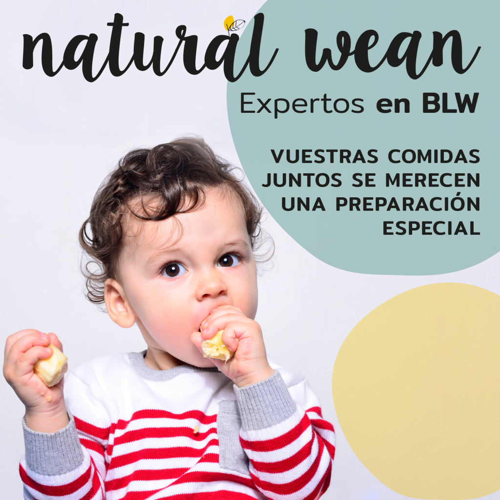 natural wean especialistas en baby-led weaning